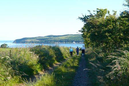 Looking towards Kilchattan Bay